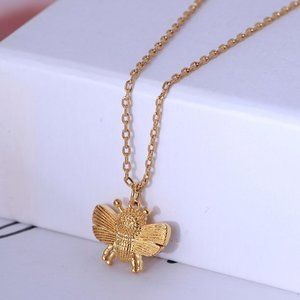 Kate Spade All Abuzz Bee Mini Pendant Necklace